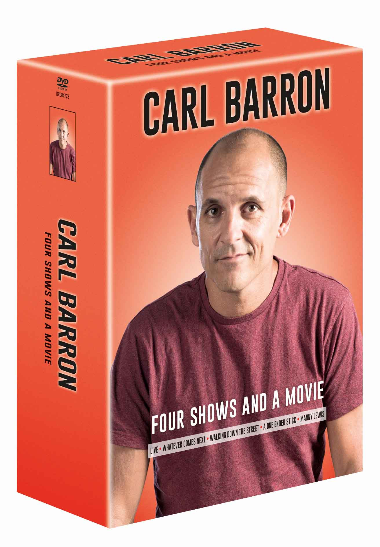 Carl Barron - Four Shows and a Movie DVD Set