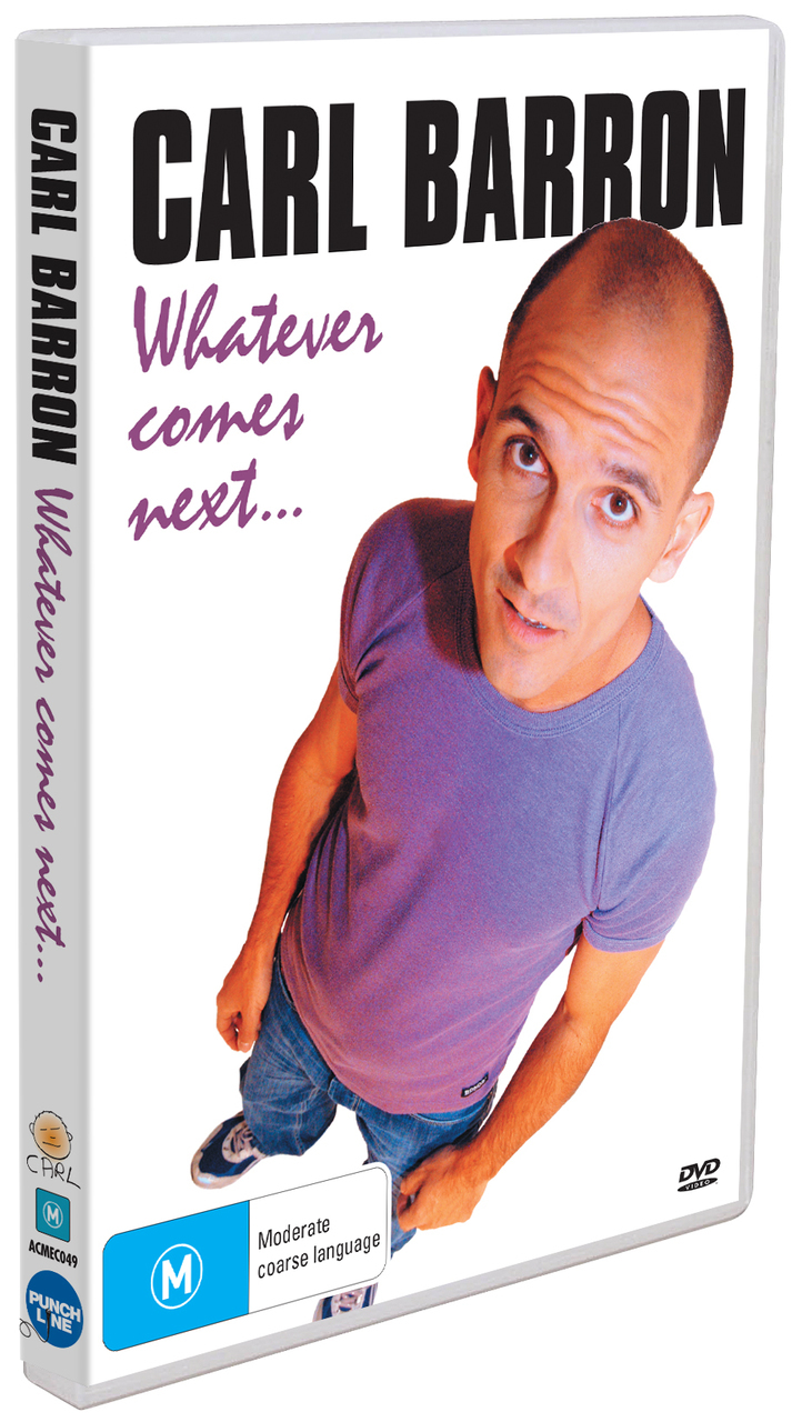 Carl Barron - Whatever Comes Next DVD