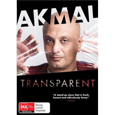 Akmal - Transparent DVD