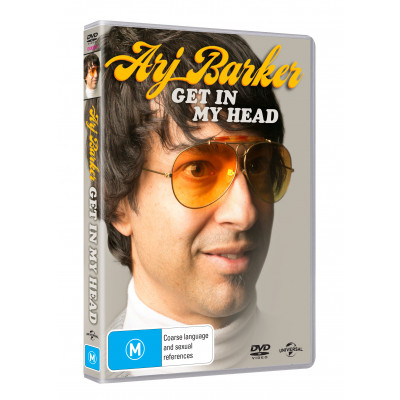 Arj Baker - Get In My Head DVD