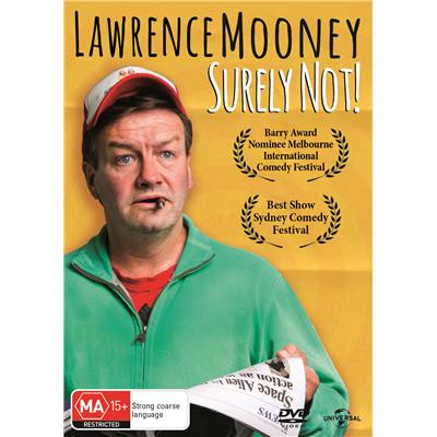 Lawrence Mooney - Surely Not DVD