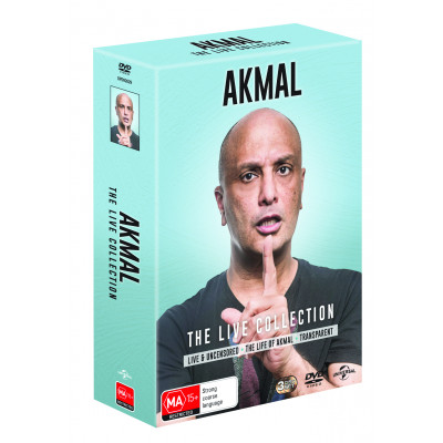 Akmal Saleh - The Live Collection DVD
