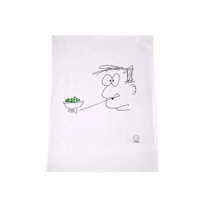 Carl Barron - Peas Tea towel